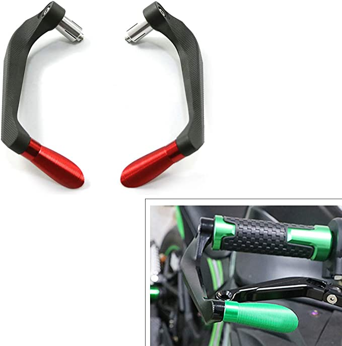 "7//8/"" Handlebar Brake Clutch Lever Guard Protect Fit Suzuki GSXR600 750 1000 1300"