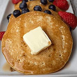 Keto Pancake & Waffle Mix by Keto and Co   Fluffy, Gluten Free, Low Carb Pancakes   2.0g Net Carbs per Serving   No Sugar Added   Diabetic & Keto Friendly   Makes 30 Pancakes #4