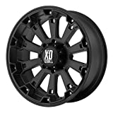 xd wheels 22 - XD Series by KMC Wheels XD800 Misfit Matte Black Wheel (20x9