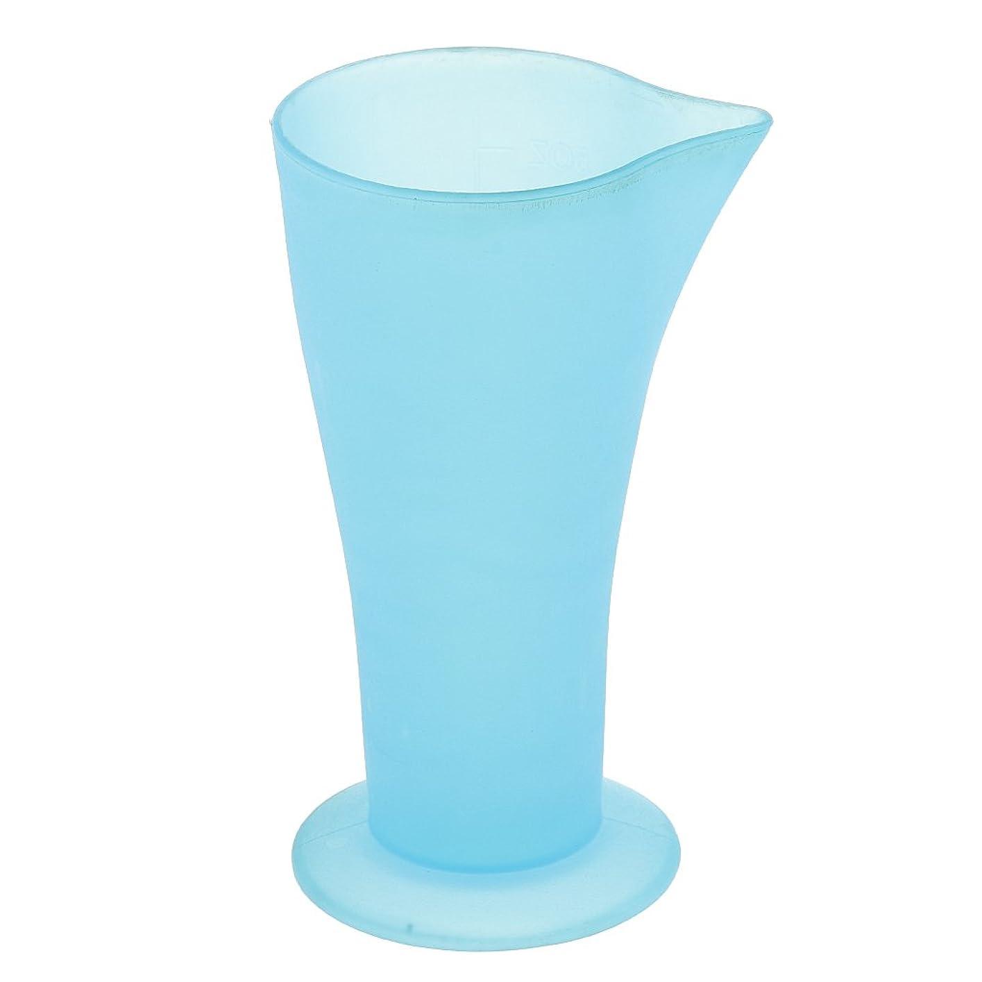 うま半球スイSONONIA ヘアダイ容器 計量カップ 白髪染め ヘアカラー おしゃれ染め プラスチック 髪の色合い 色の混合用 再使用可能 ブルー