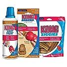 KONG - Dog Treat Combo - Easy Treat, Snacks and Ziggies - Peanut Butter Treats for Medium/Large Dogs