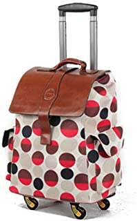 Color : Black, Size : 20 inches Travel Trolley Case Suitcase Spinner Hand Luggage Check-in Hold Luggage Expandable Strong Lightweight Oxford Cloth Universal Wheel Tourism Baggage GAOFENG