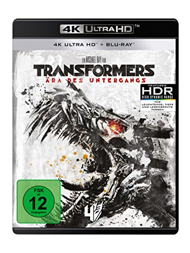 Transformers 4 - Ära des Untergangs (4K Ultra HD) (+ Blu-ray 2D)