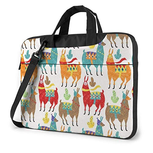 Llamas Colors Beach Towels for Travel Quick Dry Towel for Swimmers Sand Free Towel Laptop Sleeve Case Computer Tote Bag