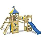 WICKEY Spielturm Smart Legend 120 - Klettergerüst mit Schaukel, Sandkasten, Kletterwänden und...