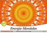 Energie - Mandalas in orange (Wandkalender 2021 DIN A3 quer): Editionskalender Energie-Mandalas in orange von Christine Bässler (Monatskalender, 14 Seiten )