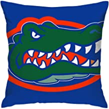 "Amuseds Throw Pillow Cover Florida Gators Decorative Square Pillow Case 16""X16"".."