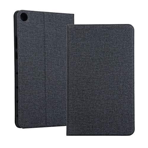 YANTAIAN Funda Protectora de Tela TPU de Voltaje Universal para Huawei Honor Tab 5 8 Pulgadas/Mediapad M5 Lite 8 Pulgadas, con Soporte (Color : Black)