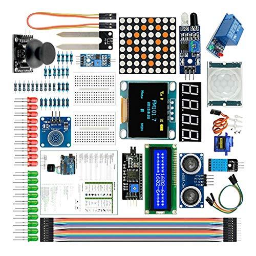 Monland 85Pcs/Set for Kit for R3 V3.0 2560 Mega 328 Project Starter