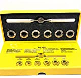 Orologio Retro Custodia Apertura Rimozione, 7 Pezzi Misure Varie con Conservazione Custodia Orologiaio Kit di Riparazione con Ideale per Rolex Tudor - Argento