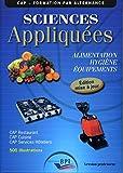 Sciences Appliquées - Cap - Prof - Maj 2011 - Editions Bpi - 01/01/2011