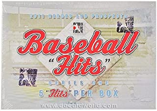 2011 In The Game Heroes & Prospects Hits Series 1 Baseball Hobby Box