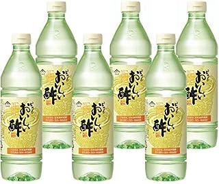 日本自然発酵 おいしい酢 900ml 6本セット ペットボトル   健康 飲料 まろやか ドリンク 料理 甘酢 果実酢配合 美味しい 飲める 国産