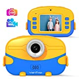VanTop Junior K6 Kids Camera with 32GB Memory Card, Supports 20.0MP Photo, 1080P HD Digital Video and 4X Digital Zoom, Great Gift for Kids with 2 Inch IPS Screen and Rechargeable Battery