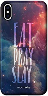 Macmerise IPCIXMPMI0536 Eat Pray Slay - Pro Case for iPhone XS Max - Multicolor (Pack of1)
