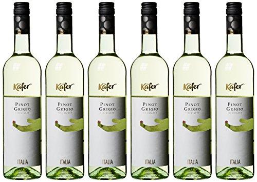 Feinkost Käfer Pinot Grigio trocken (6 x 0.75 l)