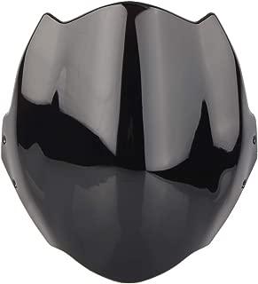 GZYF Motorbike Windshield Windscreen Fly Design Fits Ducati Monster 659/696/795/796, Black