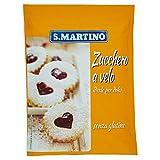 S.Martino - Zucchero a Velo Senza Glutine - Busta 125G, confezione da 10