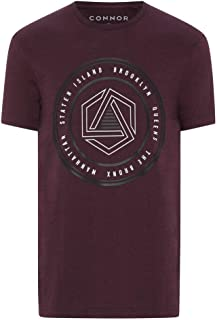 Connor Men's Hayden Crew Tee Regular T-Shirts Casual Tops Sizes XS-3XL Affordable Quality with Great Value