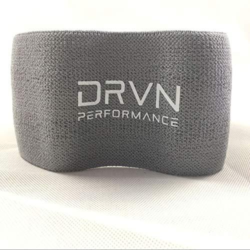 Yoga banda de tensión cadera cadera banda elástica anillo de tensión abuso anillo de cadera en cuclillas con resistencia anillo dispositivo de tensión banda de resistencia gris oscuro solo S (66CM)