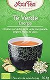 Yogi Tea Verde Energy - Paquete de 6 x 17 Sobres - Total: 102 Sobres