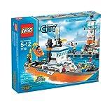 LEGO 7739 City Coast Guard Patrol Boat and Tower