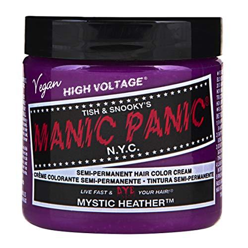 Manic Panic - Mystic Heather Classic Creme Vegan Cruelty Free Purple Semi Permanent Hair Dye 118ml