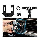 LFOTPP Support de téléphone portable pour voiture - Rotatif à 360° - Fibre de carbone - Gravity