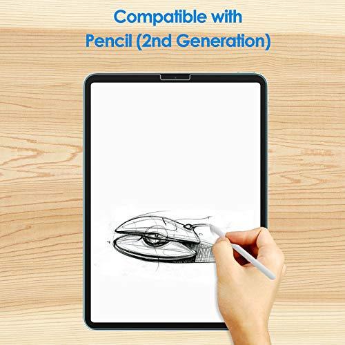 JETech 2 Stück Schutzfolie Kompatibel mit iPad Air 4 10,9 Zoll, iPad Pro 11 Zoll (2020 und 2018 Modell), Gehärtetem Glas Displayschutzfolie