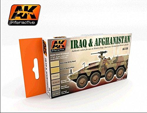 AK Interactive - Iraq & Afghanistan Set - (AK00558)