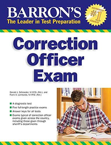 Barron's Correction Officer Exam, 4th Edition (Barron's Test Prep)