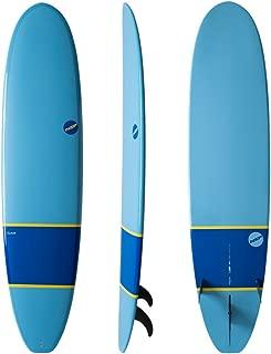 green longboard surfboard