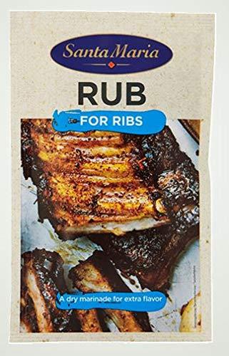 Santa Maria BBQ Rub Gewürz-Mischung, 30g
