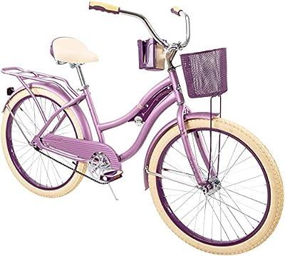 "Huffy 24"" Nel Lusso Women's Cruiser Bike, Purple Satin"