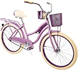 Huffy 24' Nel Lusso Women's Cruiser Bike, Purple Satin
