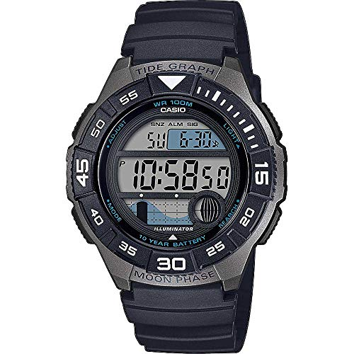 CASIO Herren Digital Quarz Uhr mit Resin Armband WS-1100H-1AVEF
