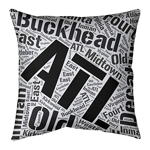 ArtVerse Katelyn Smith 26 x 26 Spun Polyester Double Sided Print with Concealed Zipper /& Insert Georgia Love Pillow
