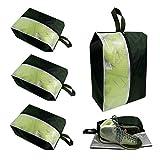 Peyan Travel Shoe Bags Waterproof Nylon Organizer Storage Tote Pouch, Organizer Bagswith Sturdy Zipper for Traveling
