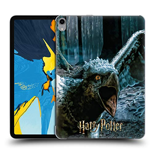 Official Harry Potter Buckbeak Deathly Hallows XXX Hard Back Case Compatible for Apple iPad Pro 11 (2018)