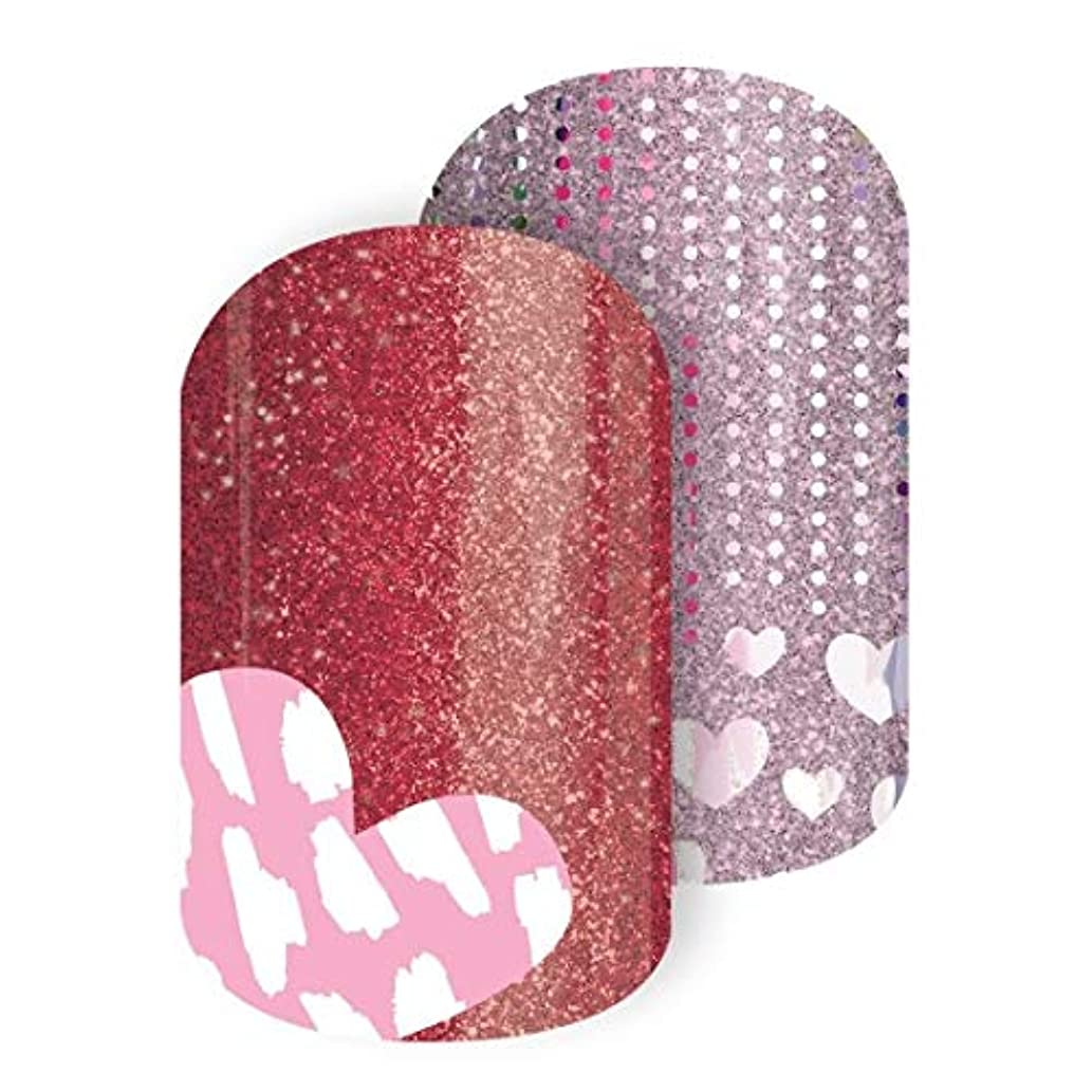 Jamberry by M. Network Valentines Day Nail Wraps ~ Hearts Desire ~ Half Sheet
