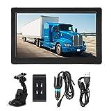 Disfrute de verano Navegador GPS para automóvil y camión, camión de 7 pulgadas Navegador GPS para automóvil ROM de 8GB Dispositivo de navegación Bluetooth Mapa gratuito 30 idiomas