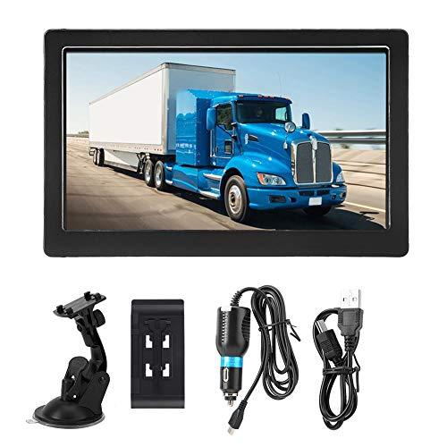 Truck GPS Bluetooth & Av-In Free Map Update 8G 256M 7 pulgadas Pantalla táctil Navegación GPS para automóvil Guía de voz para automóvil Camión Camión