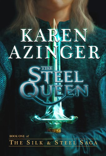 In a medieval world of forgotten magic, mortals are lured to the chessboard of the gods…  <em>The Steel Queen</em> by Karen Azinger