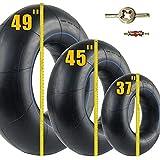River Tube for Floating Heavy Duty Rubber Snow Tube   River Tube, Sledding Float   Pool Closing Inner Tube   Truck Inner Tubes (37')