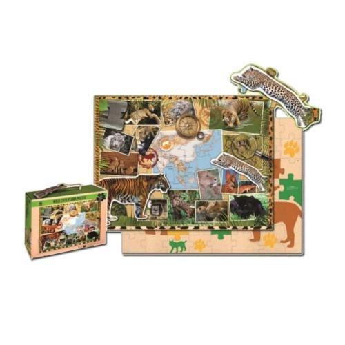 WWF Kinderpuzzle Raubkatzen (48 Teile) [Import allemand]