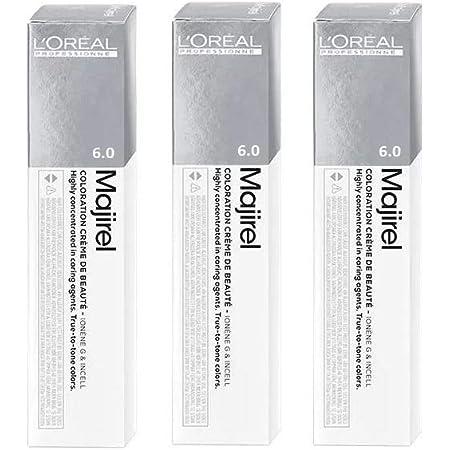3 tubos de tinte para el cabello Majirel de Loreal de color ...