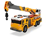 Dickie Toys 24' Light and Sound Construction Crane Truck (With Moving Ladder)