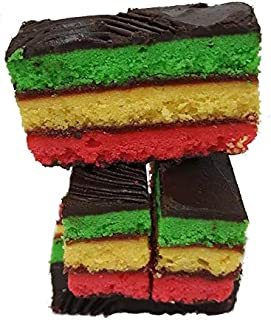 Scottos Rainbow Cookies 10 oz. Delicious Italian Rainbow Cookies, Perfect for all occasions