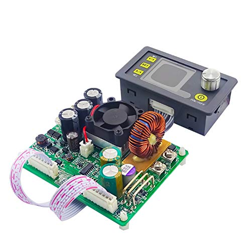 nakw88 Módulo de alimentación DPS5015 DC 50V 15A Pantalla LCD Accesorios Digitales Regulables Ajustables Piezas de Alta precisión Reemplazo de Suministro de Corriente Tablero útil útil Paso Abajo