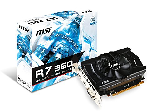 MSI R7 360 2GD5 OC Graphics Card